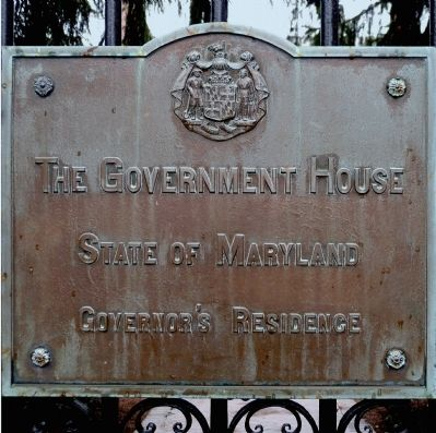 The Government House Marker image. Click for full size.
