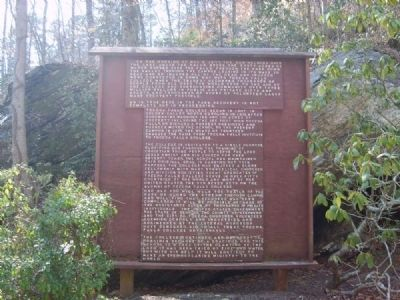Kelly Dam Disaster Marker image. Click for full size.
