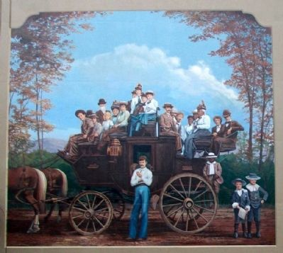 Stagecoach Mural image. Click for full size.