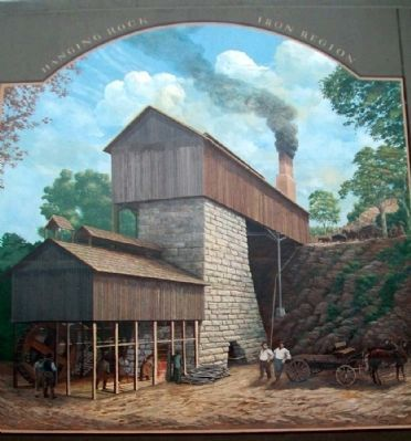 Hanging Rock Region Mural image. Click for full size.