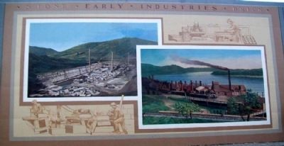 Early Industries Mural image. Click for full size.