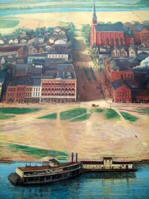 Portsmouth, 1903 Mural Detail image. Click for full size.