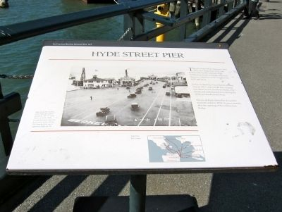 Hyde Street Pier Marker image. Click for full size.