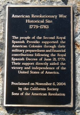 American Revolutionary War Historical Site Marker image. Click for full size.