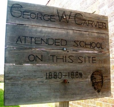 George W Carver Marker image. Click for full size.