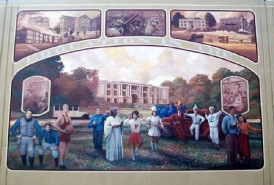 Progress In Education Mural image. Click for full size.