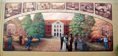Progress In Education Mural Detail image. Click for full size.