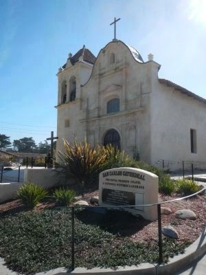 Today the Royal Presidio Chapel is called the San Carlos Cathedral image. Click for full size.