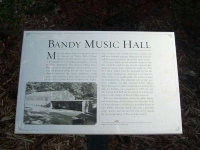 Bandy Music Hall Marker image. Click for full size.