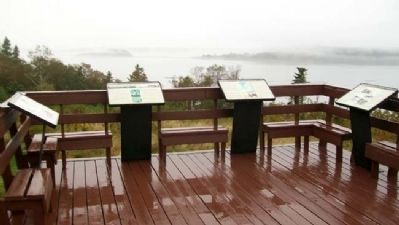 Friar's Head Observation Deck Markers image. Click for full size.