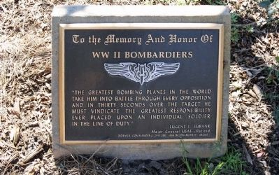 WW II Bombardiers Marker image. Click for full size.