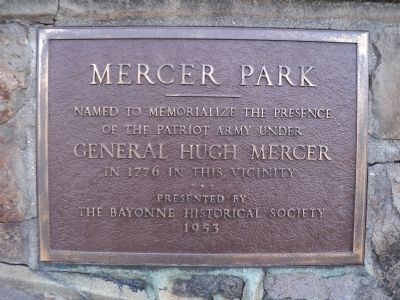 Mercer Park Marker image. Click for full size.