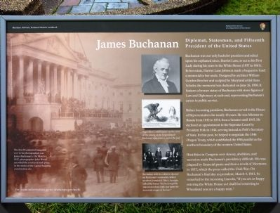 James Buchanan Marker Photo, Click for full size