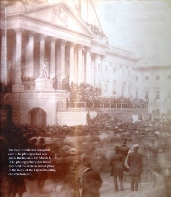 Buchanan's Inauguration Photo, Click for full size