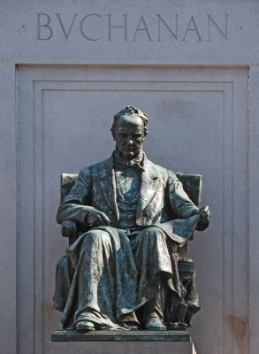 James Buchanan Statue Photo, Click for full size