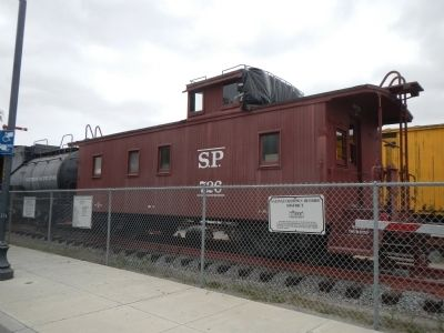 Southern Pacific Caboose # 726 Marker image. Click for full size.