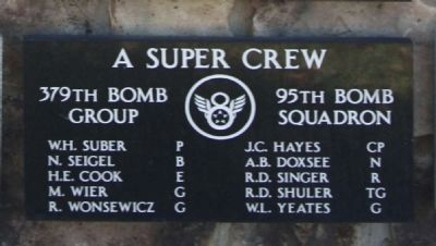 379th Bombardment Group - 95th Squadron - A Super Crew image. Click for full size.