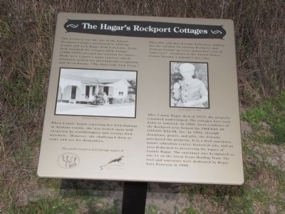 The Hager's Rockport Cottages Marker image. Click for full size.