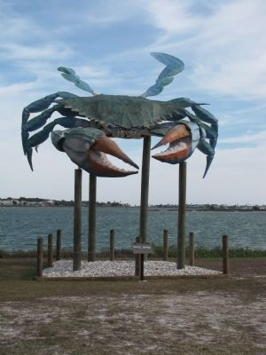 The Big Blue Crab image. Click for full size.