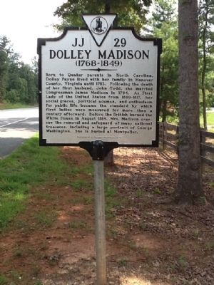 Dolley Madison Marker image. Click for full size.
