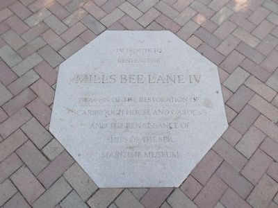 Mills Bee Lane IV Marker Photo, Click for full size