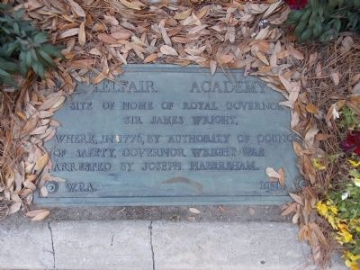 Telfair Academy Marker image. Click for full size.