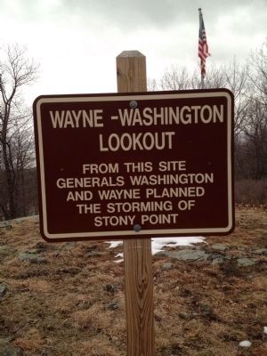 Wayne -Washington Lookout Marker image. Click for full size.