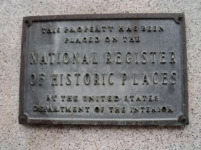 Marker on East Side of Agriculture Building image. Click for full size.