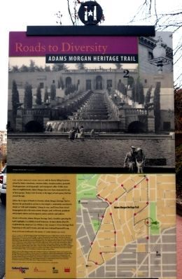 Meridian Hill/Malcolm X Park Marker (reverse) Photo, Click for full size