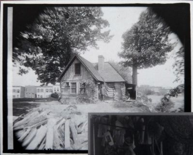 Joaquin Miller Cabin image. Click for full size.