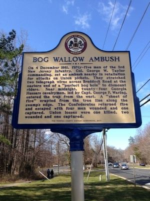 Incorrect Bog Wallow Ambush Marker image. Click for full size.