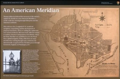 An American Meridian Marker image. Click for full size.
