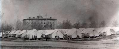 Union Army Tents image. Click for full size.