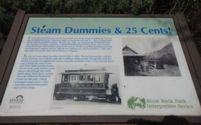 Steam Dummies & 25 Cents! Marker image. Click for full size.
