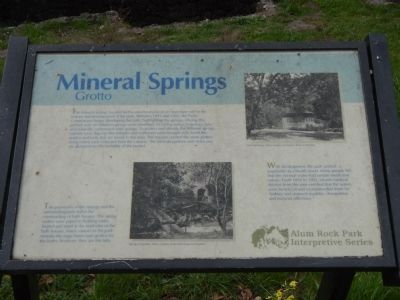 Mineral Springs Grotto Marker image. Click for full size.