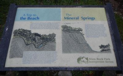 Geological Interpretive Panel image. Click for full size.