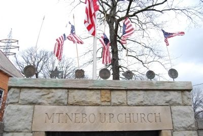 Mt. Nebo U.P. Church War Memorial Marker image. Click for full size.