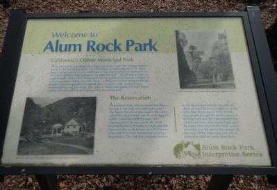 Alum Rock Park Marker image. Click for full size.