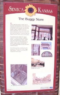 The Buggy Store Marker image. Click for full size.