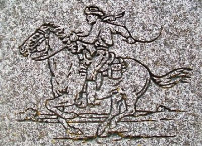 Etching on Don Clarence Rising Marker image. Click for full size.