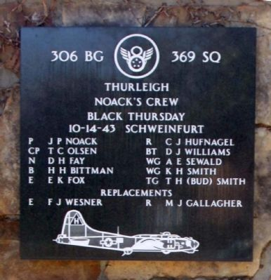 306 Bomb Group 369 Squadron Noack's Crew image. Click for full size.