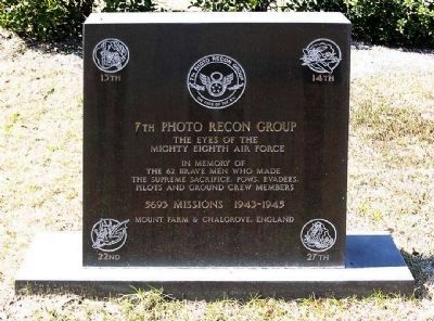 7th Photo Recon Group Marker image. Click for full size.