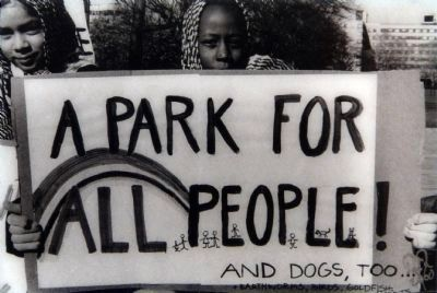 A Park for <b>All</b> People, and Dogs Too... image. Click for full size.