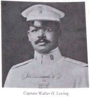 Capt. Walter P. Loving, in uniform as director of the Philippine Constabulary Band Photo, Click for full size