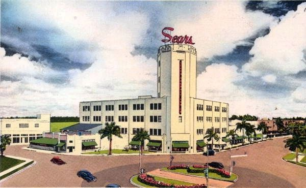 Sears, Roebuck and Company Department Store image. Click for full size.
