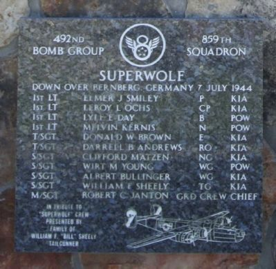 492nd Bomb Group 859th Squadron image. Click for full size.