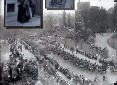 Marching Past Henderson's Castle image. Click for full size.