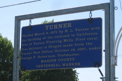 Turner Marker image. Click for full size.