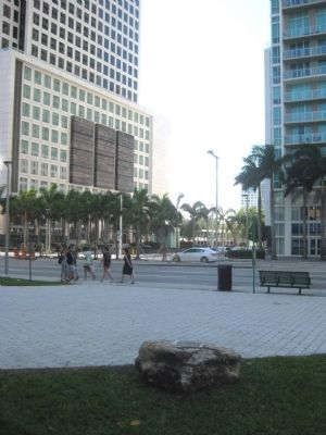 Mary Brickell Park Marker image. Click for full size.