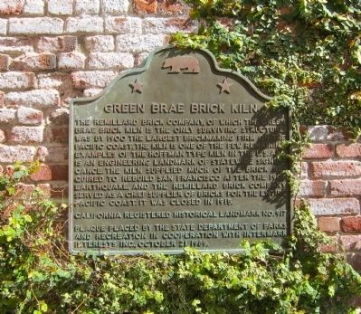 Green Brae Brick Kiln Marker image. Click for full size.